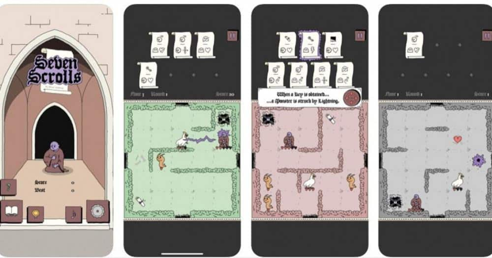 seven-scrolls-game-mobile Novos Jogos para Android e iOS [12/03/2020]