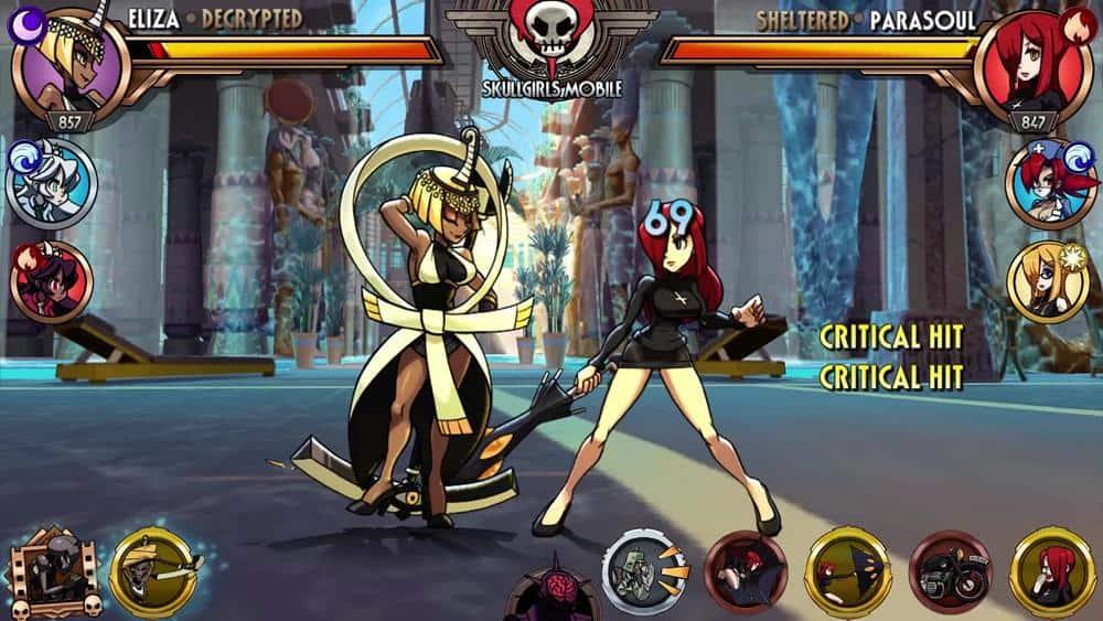 skullgirls-mobile Skullgirls Mobile adiciona lutadora a pedido dos fãs (Android e iOS)