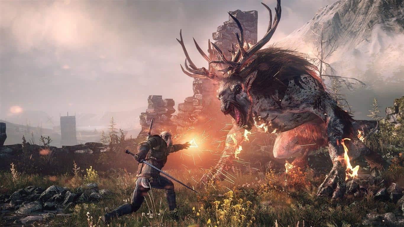 the-witcher-3-wild-hunt-1 The Witcher 3 em promoção na Steam (jogável no Android via Geforce Now)