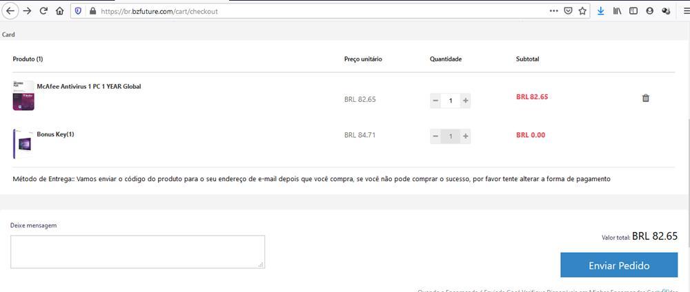 comprando-bzfuture-1 Ganhe um Licença do Windows 10 Grátis na Promoção de Antivírus na BZfuture