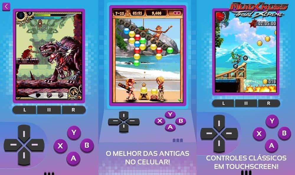 gameloft-coletanea-20-anos-emulador-jogos-gratis-2 Gameloft lança coletânea de Jogos Java offline de graça no Android
