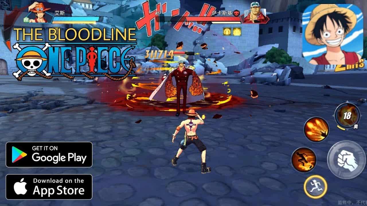 One Piece The Bloodline: Baixe o APK do RPG de ação para Android