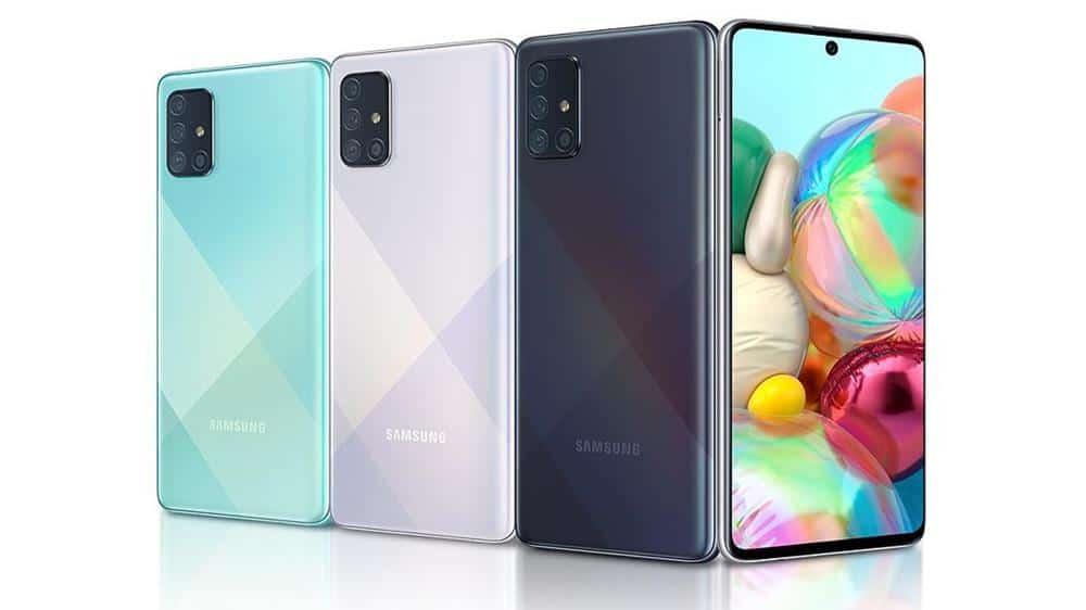 Samsung-A71 Smartphones Baratos para Games em 2020 (No Brasil R$ 1100 a R$ 2000)