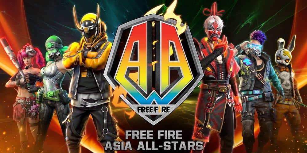 garena-free-fire-ios-asia-all-stars Garena anuncia campeonato Free Fire Asia All-Stars