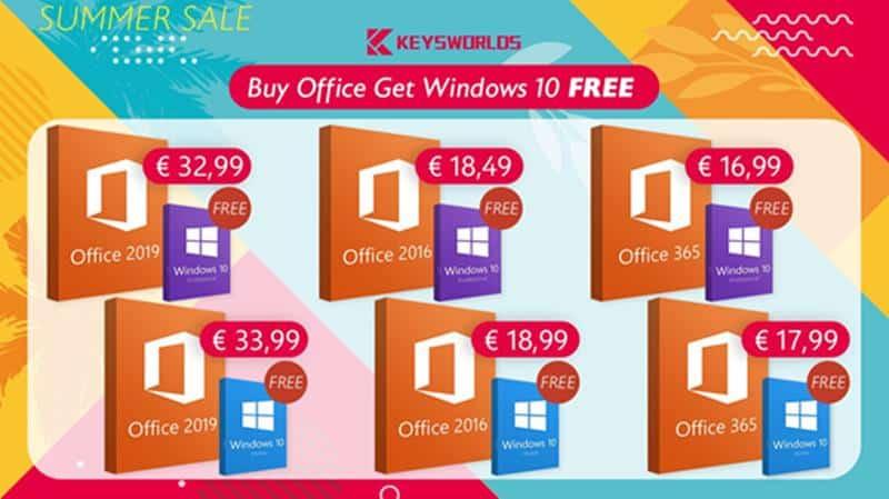 keywords-summer-sale-promoca-windows-10-de-graca Promoção de Outono: compre o pacote Office e ganhe uma licença para o Windows 10 totalmente de graça