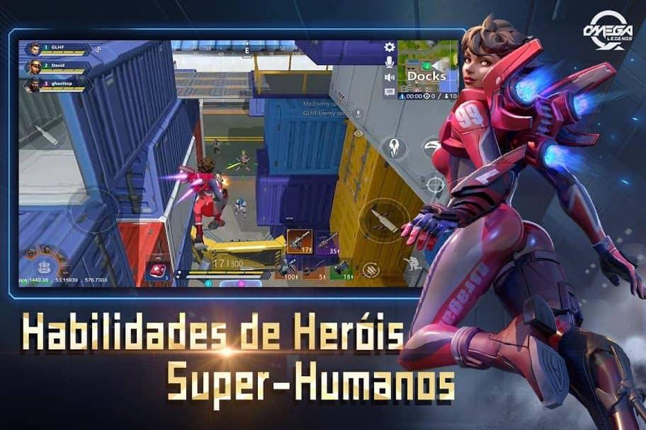 omega-legends-android-1 Omega Legends: jogo parecido com Fortnite roda em qualquer Android