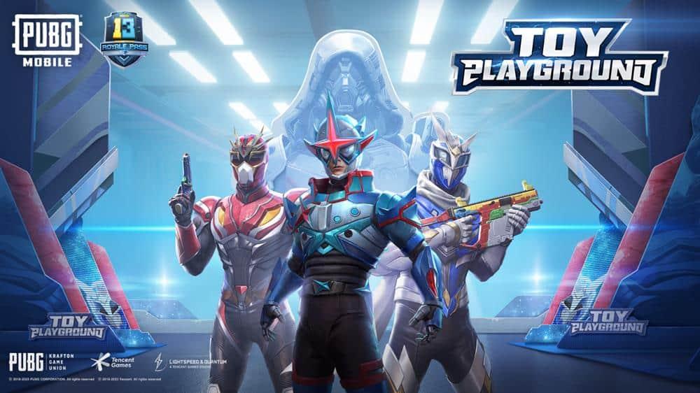 """pubg-mobile-power-rangers Os """"Power Rangers"""" e Black Kamen Rider invadiram a 13ª Temporada de PUBG Mobile"""
