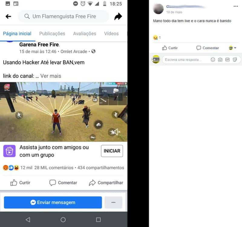 relato-hacker-free-fire-4 Free Fire está infestado de hackers? Jogadores fazem protesto na Google Play