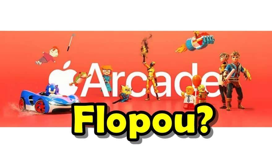 apple-arcade-flopou Apple Arcade cancela jogos e procura outros projetos