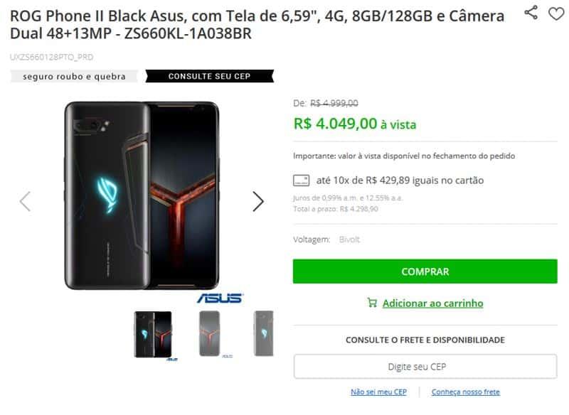 asus-rog-phone-2-4mil Xiaomi Brasil: celulares mais caros que iPhones?