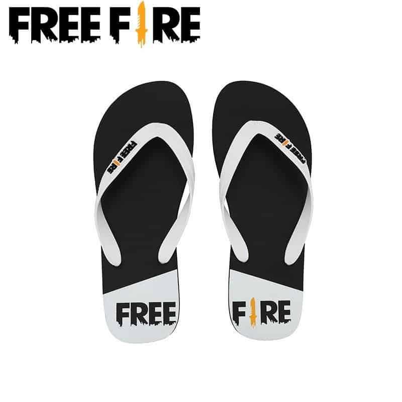 chinelo-free-fire Free Fire inaugura loja oficial com pelúcias, mochilas e até chinelos
