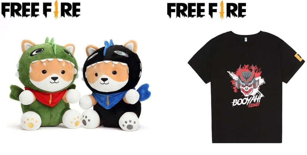 free-fire-produtos-shopee Free Fire inaugura loja oficial com pelúcias, mochilas e até chinelos