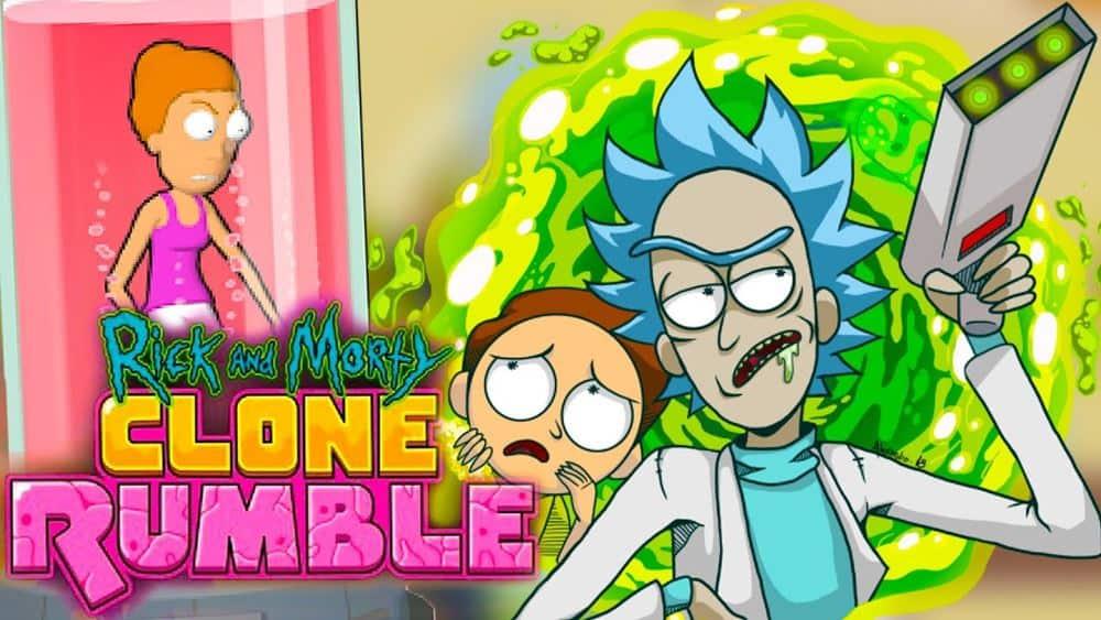 Rick-and-Morty-Clone-Rumble Rick and Morty: Clone Rumble é a sequência de Pocket Mortys