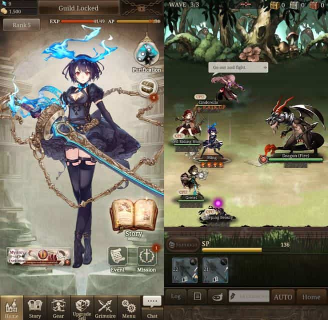 SINoALICE-1-android-ios-1 SINoALICE: RPG do mesmo criador de Nier Automata é lançado no Android e iOS