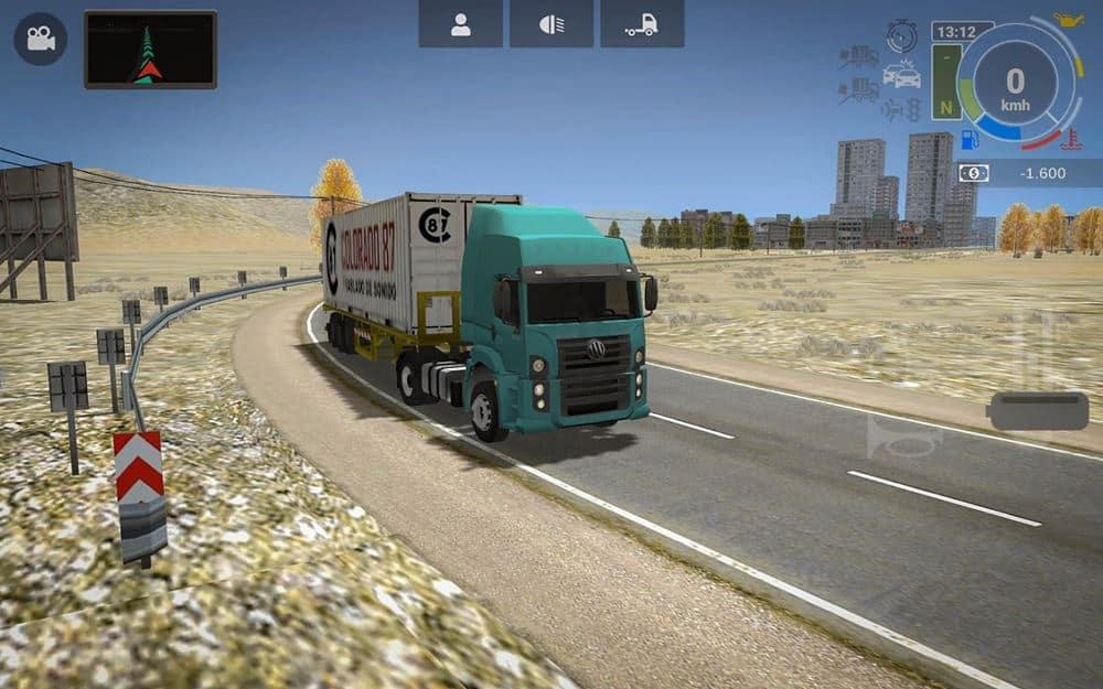 grand-truck-simulator-2-android-lancamento Grand Truck Simulator 2: jogo com caminhões brasileiros está disponível para baixar no Android