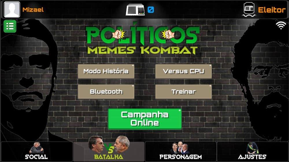 politicos-memes-combat-1 Políticos Memes Kombat: Game para Celular coloca Bolsonaro, Lula, Ciro e Temer para lutar