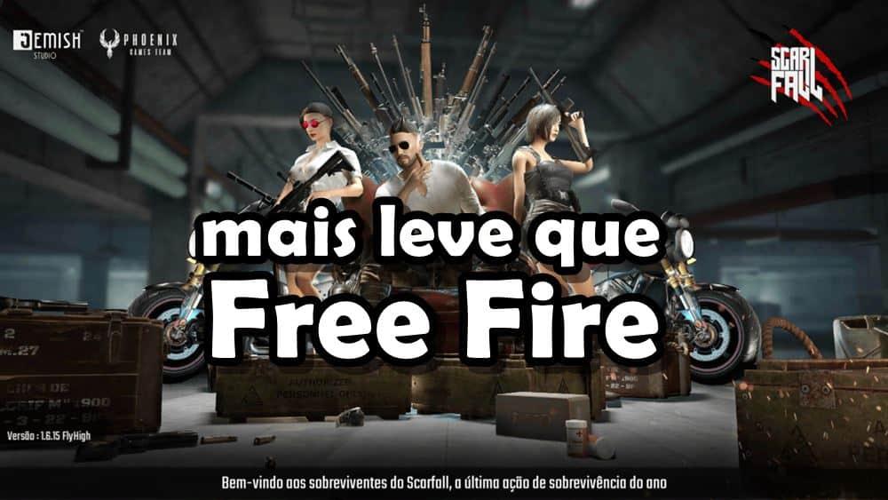 "scarfall-jogo-battle-royale-leve-que-free-fire Scarfall: ""Clone"" de Free Fire alcança 3 milhões de downloads"