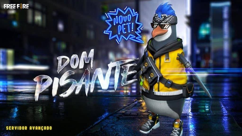 500 Nomes para o Pinguim Dom Pisante de Free Fire