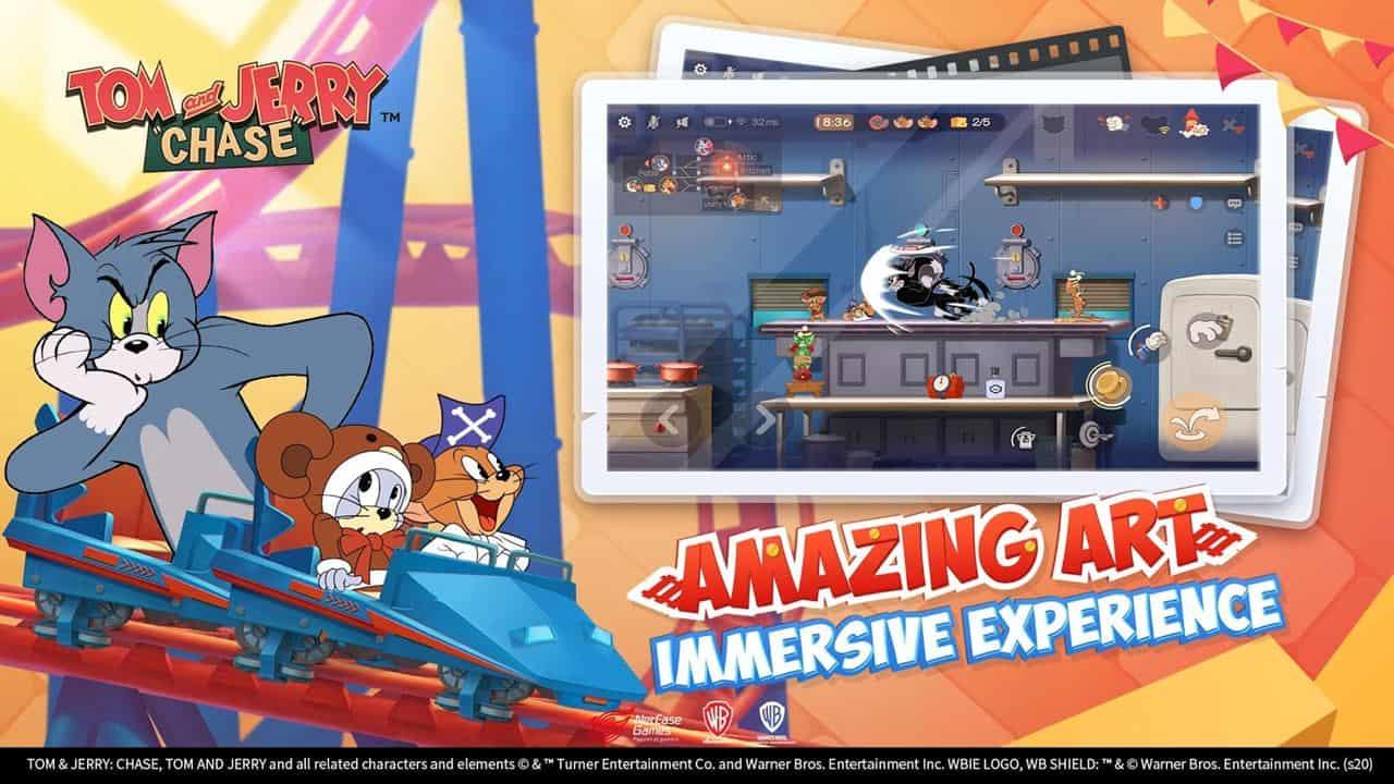 tom-jerry-chase-1 Tom and Jerry Chase: jogo da NetEase está em testes em alguns países