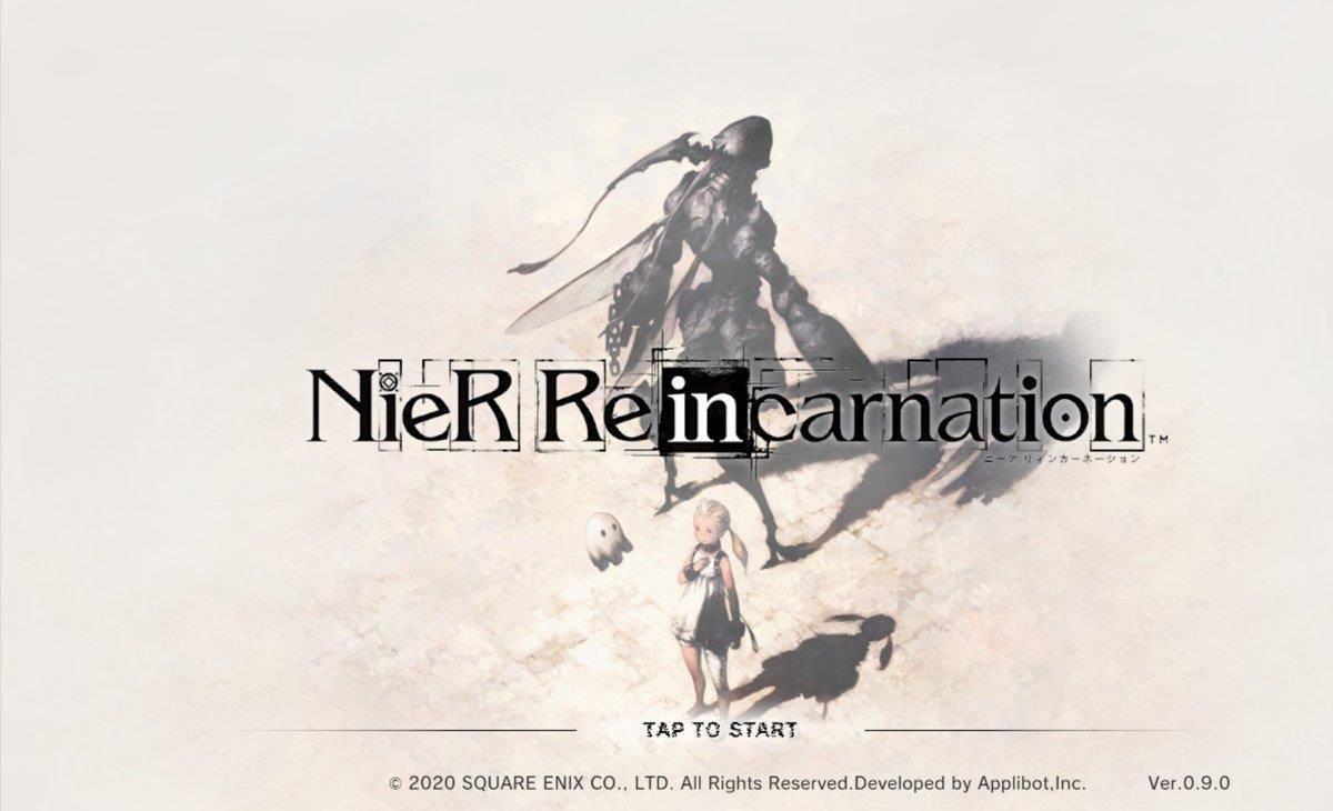 NieR-Reincarnation-android-ios NieR Re[in]carnation tem novo vídeo de gameplay revelado