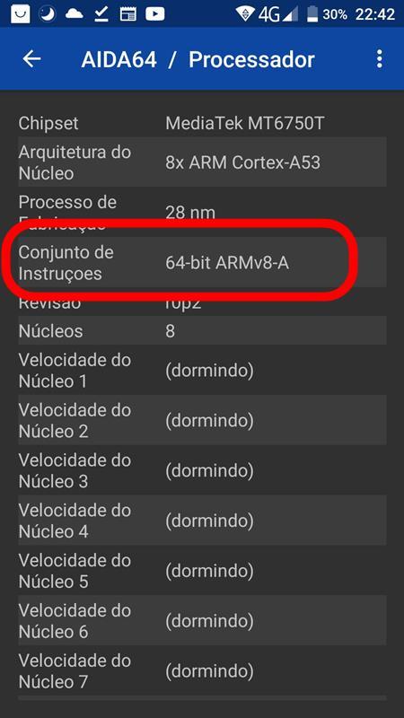 aida64-processador-oukitel-k10000pro Como saber se processador do celular é 32 bits ou 64 bits? Descubra!