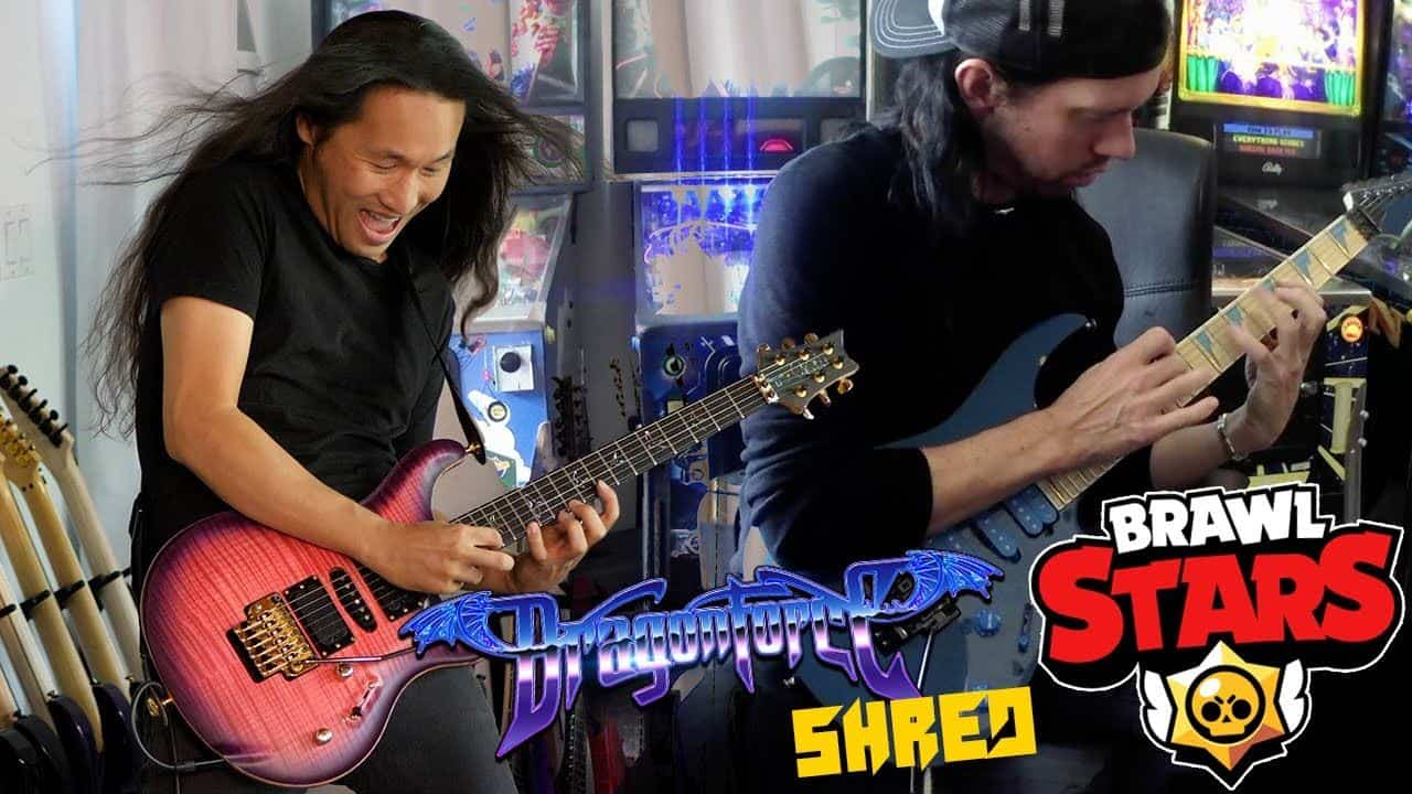 dragonforce-brawlstars Banda de Power Metal DragonForce toca música de Brawl Stars