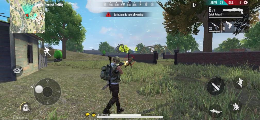 """free-fire-max-ios-screenshot-combat Free Fire Max chega em dezembro e trará """"novos"""" gráficos"""