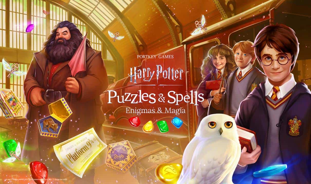 harry-potter-puzzles-spells-android-ios Zynga lança Harry Potter: Puzzles & Spells para Android e iOS