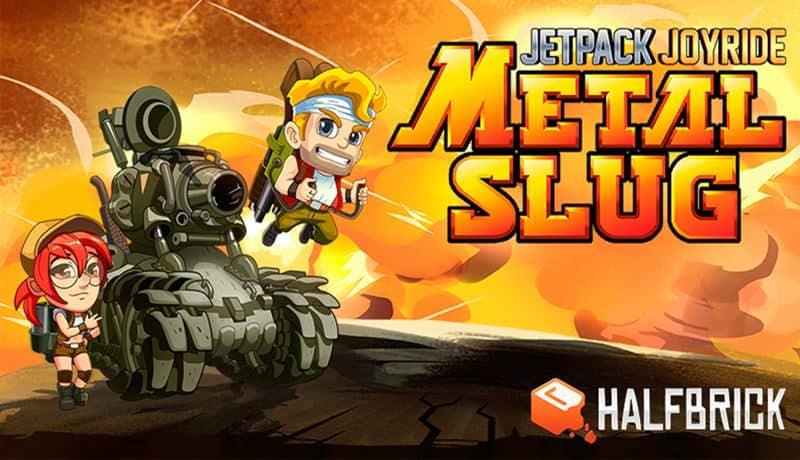 jetpackjoyride-metalslug Crossover de Metal Slug e Jetpack Joyride já começou! Baixe Agora no Android e iOS