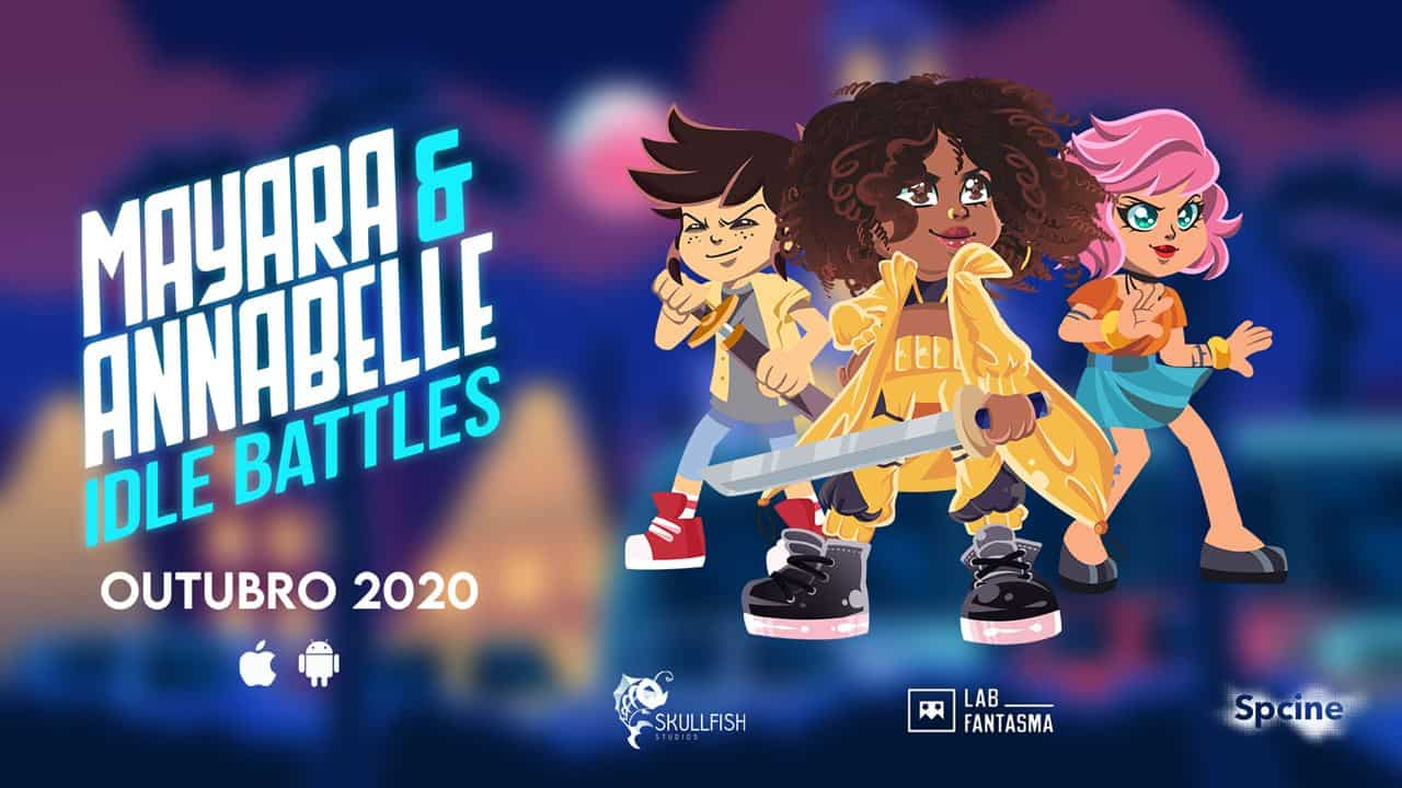"mayara-annabelle-game-android Game brasileiro ""Mayara & Annabelle"" adiciona a cantora Drik Barbosa"