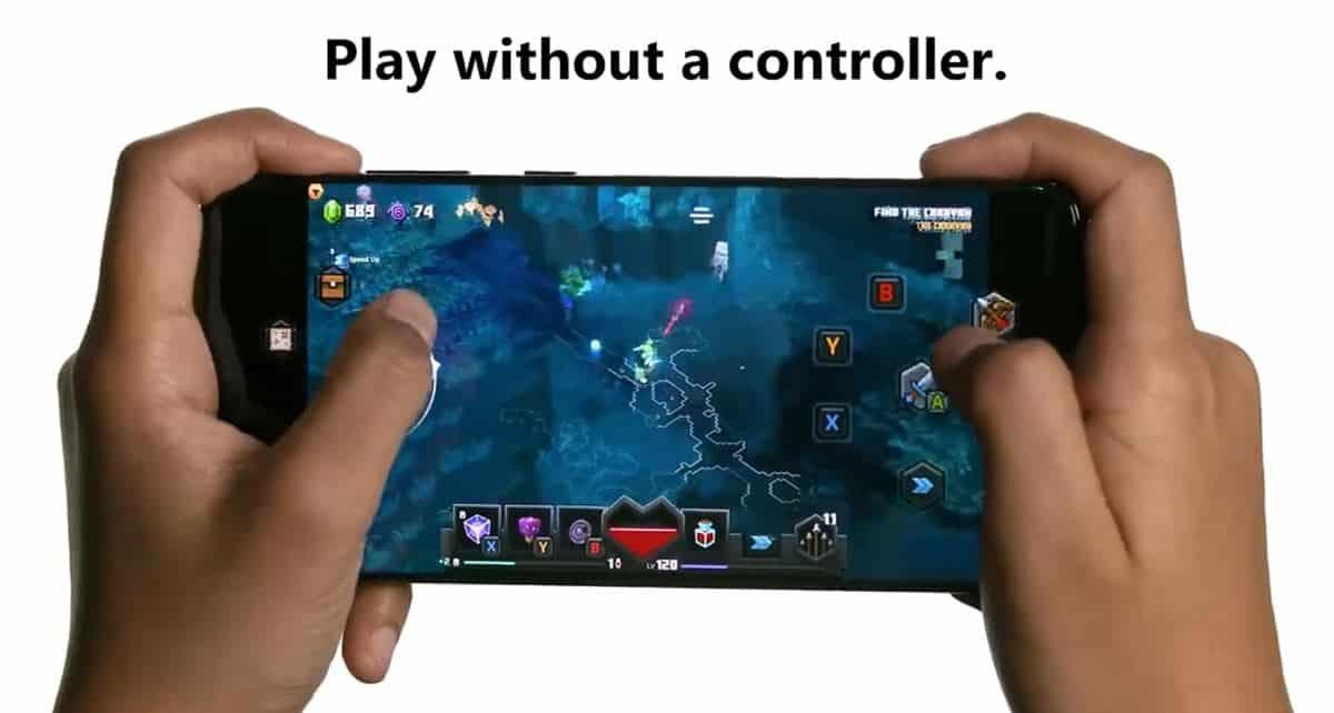 minecraft-dungeons-controles-na-tela Como o Xbox Game Pass (e xCloud) podem mudar para sempre os jogos de celular