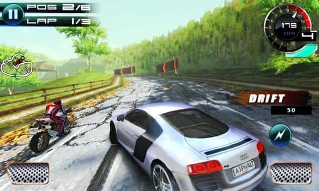 asphalt-5-gameloft 22 Melhores Jogos Offline Antigos da Gameloft