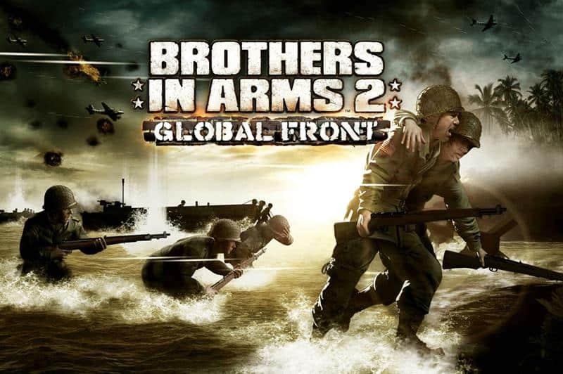 brothers-in-arms-2-global-front 22 Melhores Jogos Offline Antigos da Gameloft