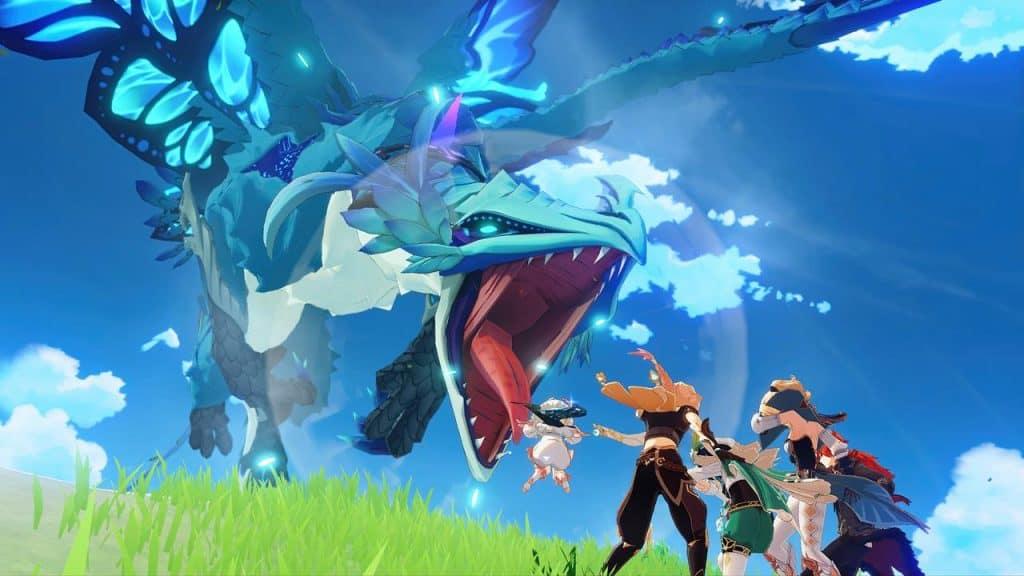 genshin-impact-dragao-stormterror-1024x576 Melhores Jogos para Celular – Mobile Gamer Awards 2020