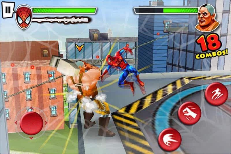 ultimate-spider-man-total-mayhem_1 22 Melhores Jogos Offline Antigos da Gameloft