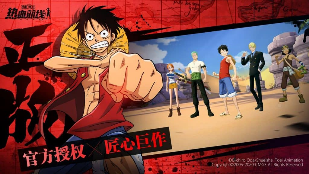 One Piece: Fighting Path para Android e iOS abre novo teste beta
