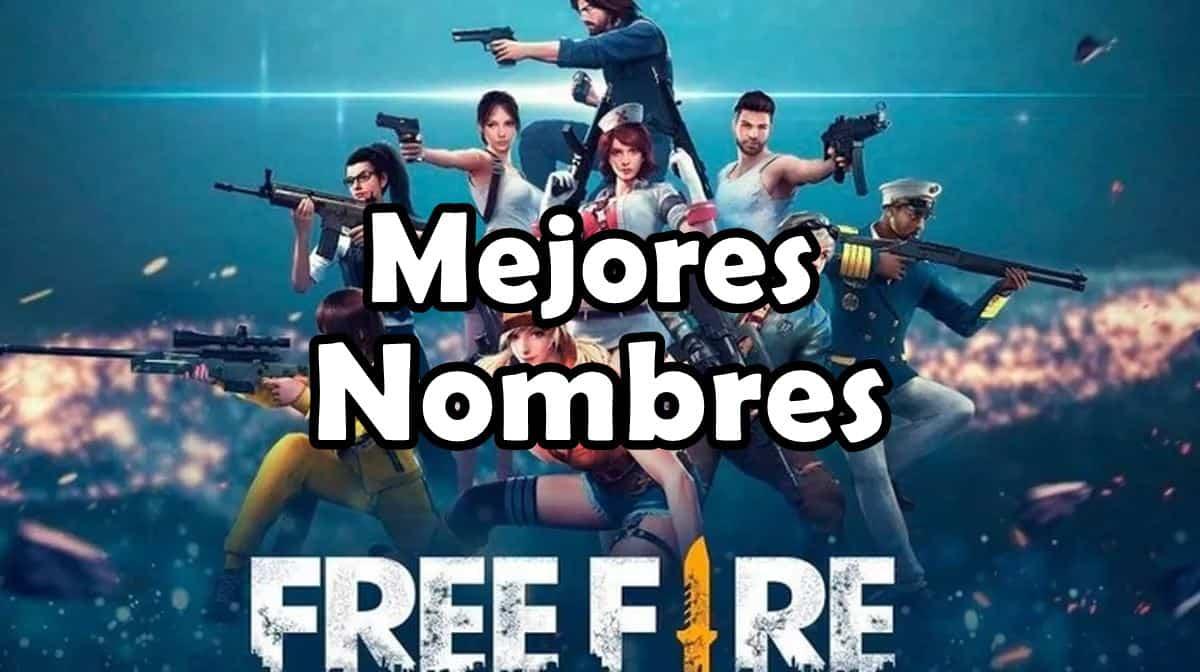 1 600 Nombres Para Free Fire 2020 Mejores Nicks Geniales Mobile Gamer Tudo Sobre Jogos De Celular