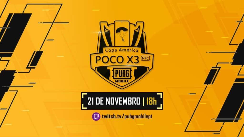 PUBG MOBILE realiza Copa América neste sábado com parceria da Xiaomi e Twitch