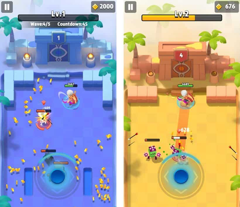 Archero-1 25 Best Offline Games for Android 2021