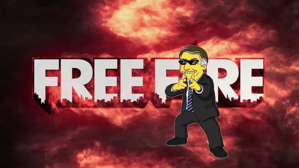 Hashtag de jogador de Free Fire é confundida com apoio a Bolsonaro