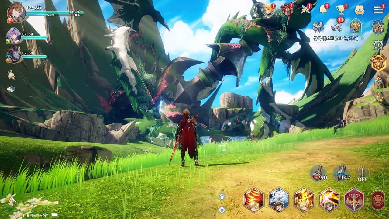 Gran Saga: primeira atualização do MMORPG traz Boss Raid e novo personagem