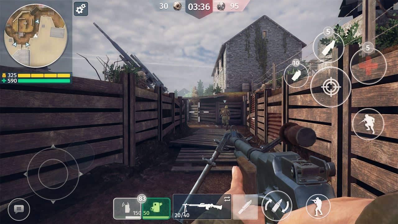 World War 2: FPS multiplayer ambientado na Segunda Guerra Mundial (pré-registro)