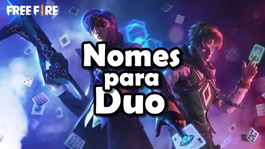 200 Nomes para dupla em jogos (Free Fire / PUBG / COD / Fortnite / LoL)
