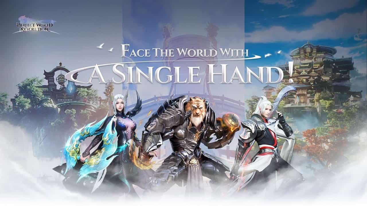 O Melhor MMORPG Vertical Perfect World: Revolution começará o pré-registro no dia 1º de Junho