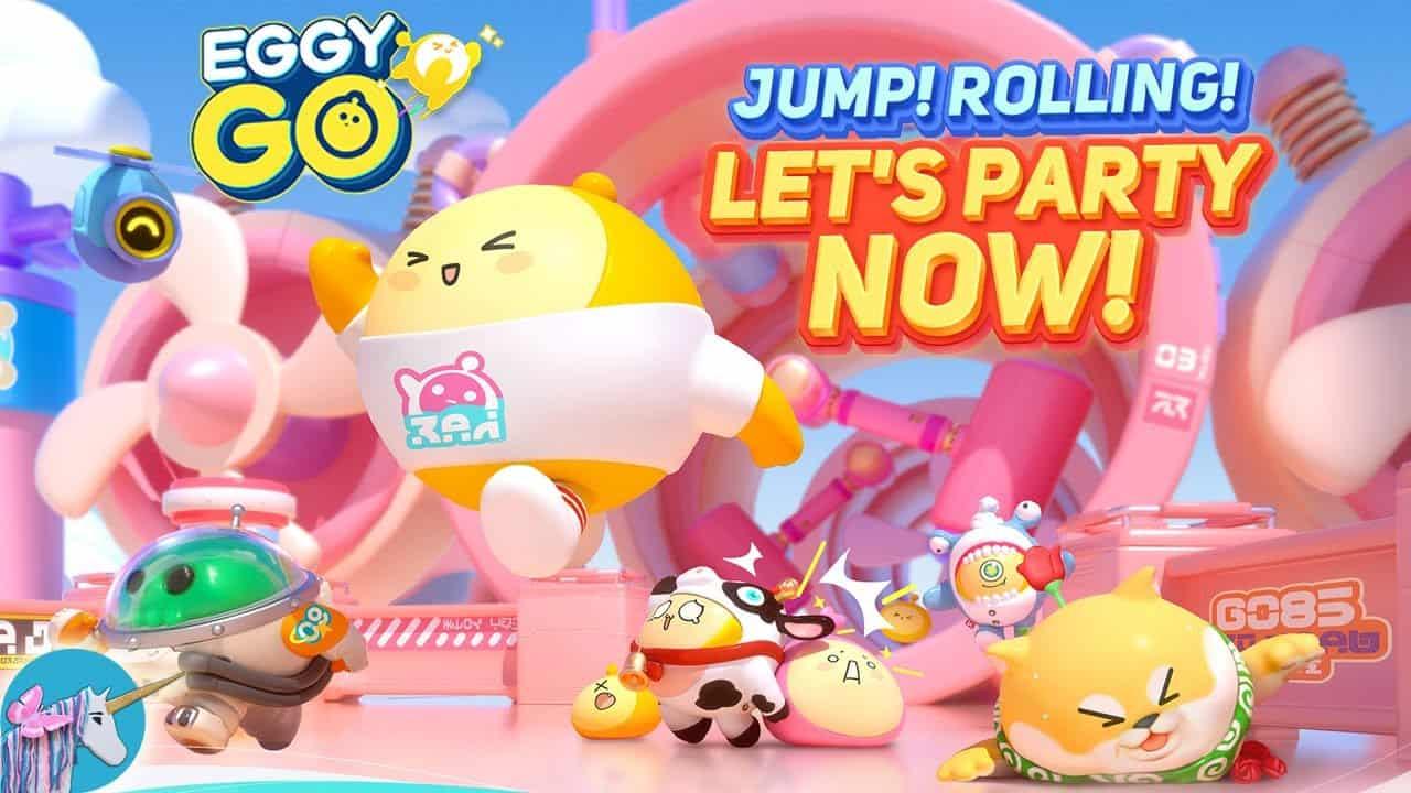 """Eggy GO! O """"Fall Guys"""" da NetEase já está disponível para baixar (APK)"""