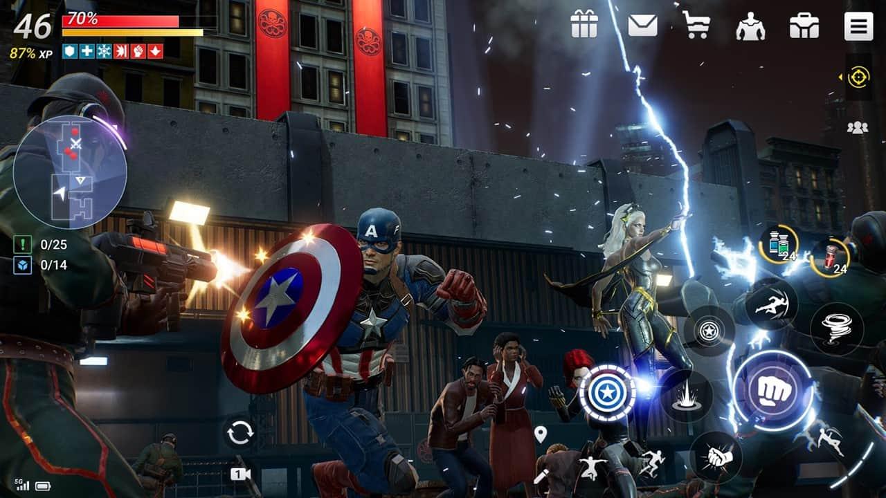 Marvel Future Revolution: novo jogo da Netmarble para Android e iOS está em  pré-registro - Mobile Gamer | Jogos de Celular